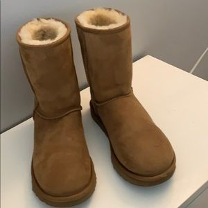 Short ugg boots. Worn once